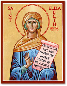 St. Elizabeth Icon, US Made