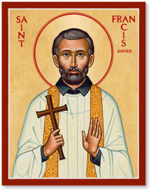 St. Francis Xavier Icon, US Made