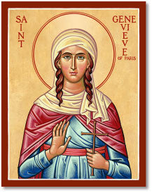 St. Genevieve Icon, US Made