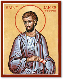 St. James the Greater Icon, US Made