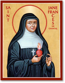 St. Jane de Chantal Icon, US Made