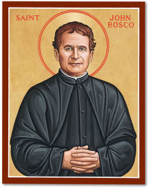 St. John Bosco Icon, US Made