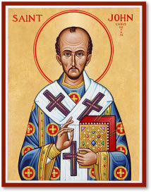 St. John Chrysostom Icon, US Made