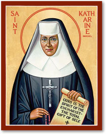 St. Katherine Drexel Icon, US Made