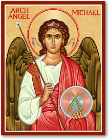 St. Michael Icon, US Made