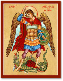 St. Michael the Defender Icon, US Made