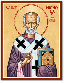 St. Nicholas Icon, US Made