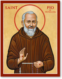 St. Padre Pio Icon, US Made