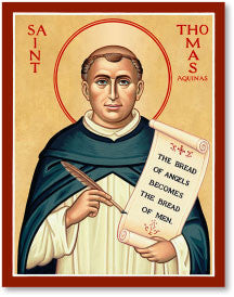St. Thomas Aquinas Icon, US Made
