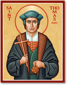 St. Thomas More Icon, US Made