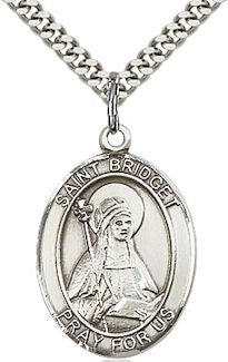 St. Bridget of Sweden Patron Saint Medal