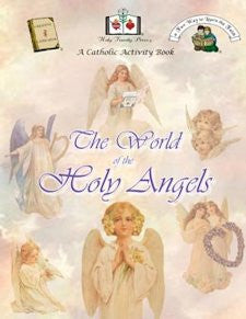 Catholic Activity Books for Children - The World of the Holy Angels