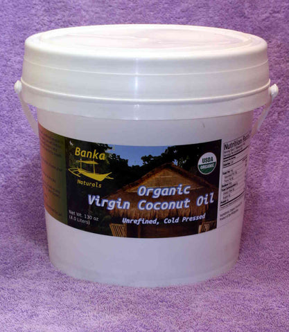 organic virgin coconut oil (one gallon)