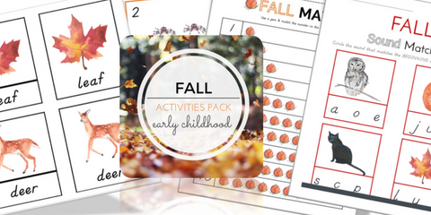 Montessori Fall Activities List