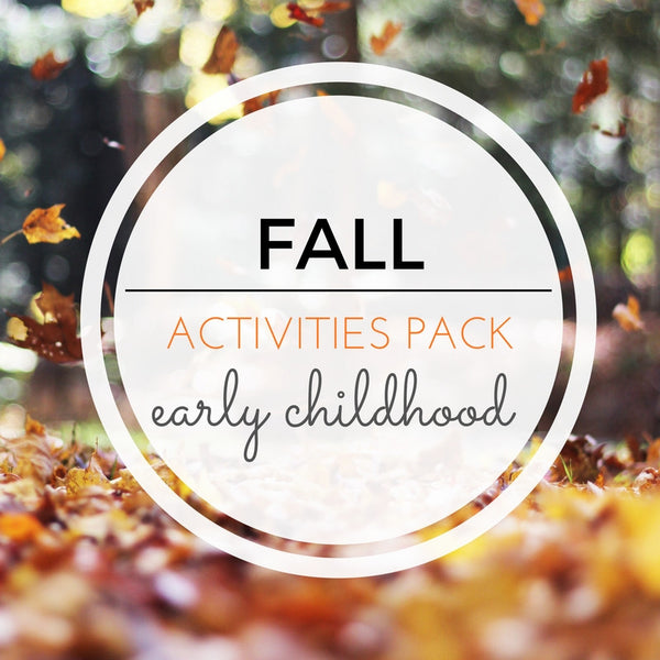 Fall Activities Pack - Carrots Are Orange - 1