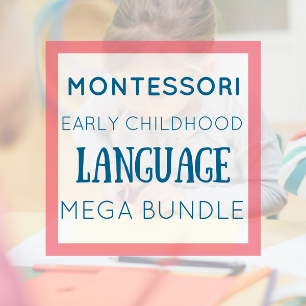 Montessori Language Activities Bundle