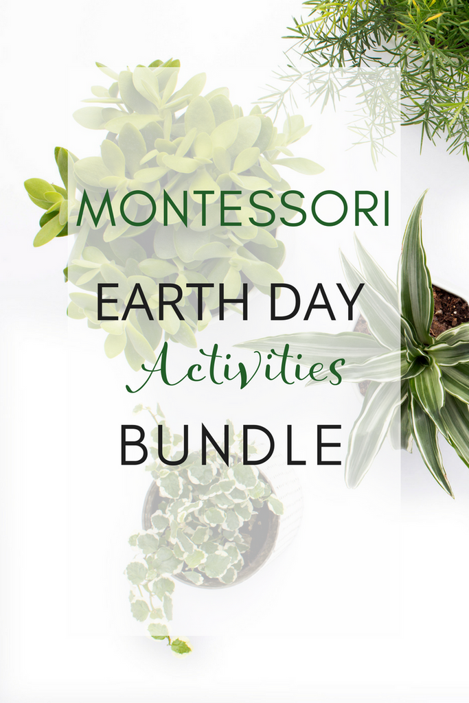 Montessori Earth Day Activities Pack