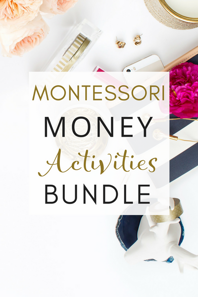 Montessori Inspired Learning about Money Printable Activities Pack