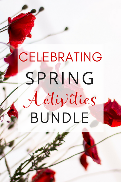 Celebrating Spring Activities Bundle