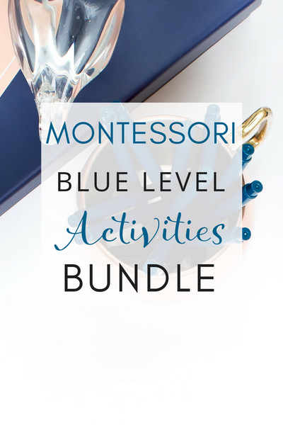 Montessori Blue Level Language Bundle