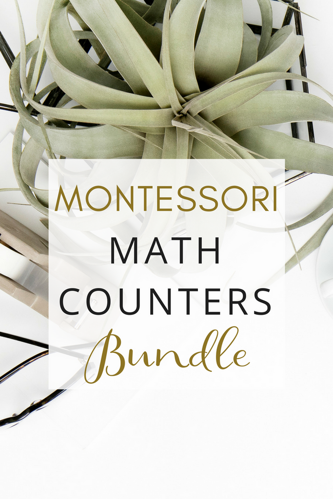 Montessori Math Counters Bundle