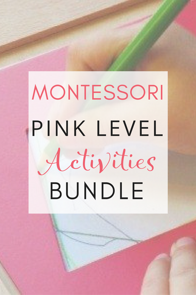 Montessori Language - Pink Series Bundle