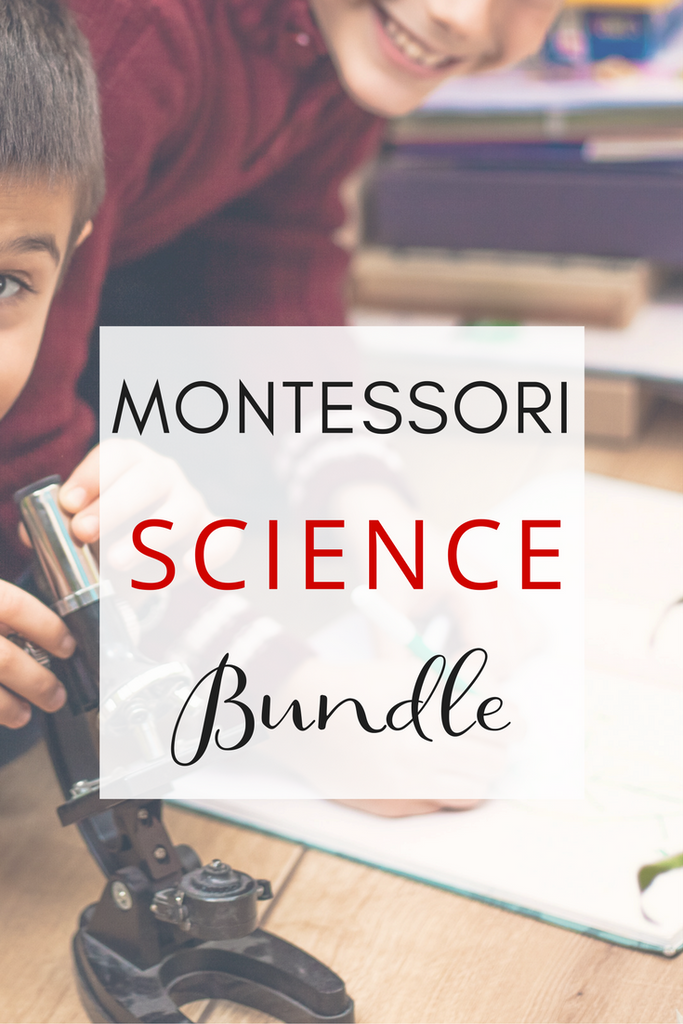 Montessori Science Activities Bundle