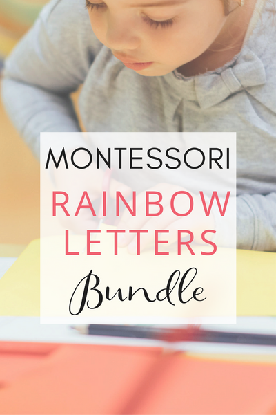 Rainbow Letters - BUNDLE