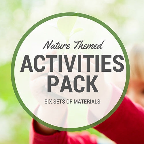 Nature Math Activities Pack - Carrots Are Orange - 1