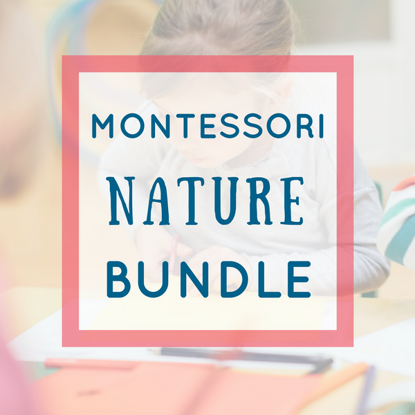 Montessori Math Activities Bundle - Nature Theme