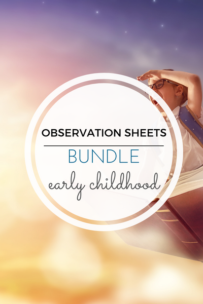 Montessori Science Observation Activity Sheets