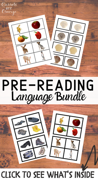 Language - Pre-Reading Materials Pack