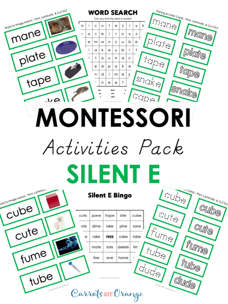Montessori Language - Green Level