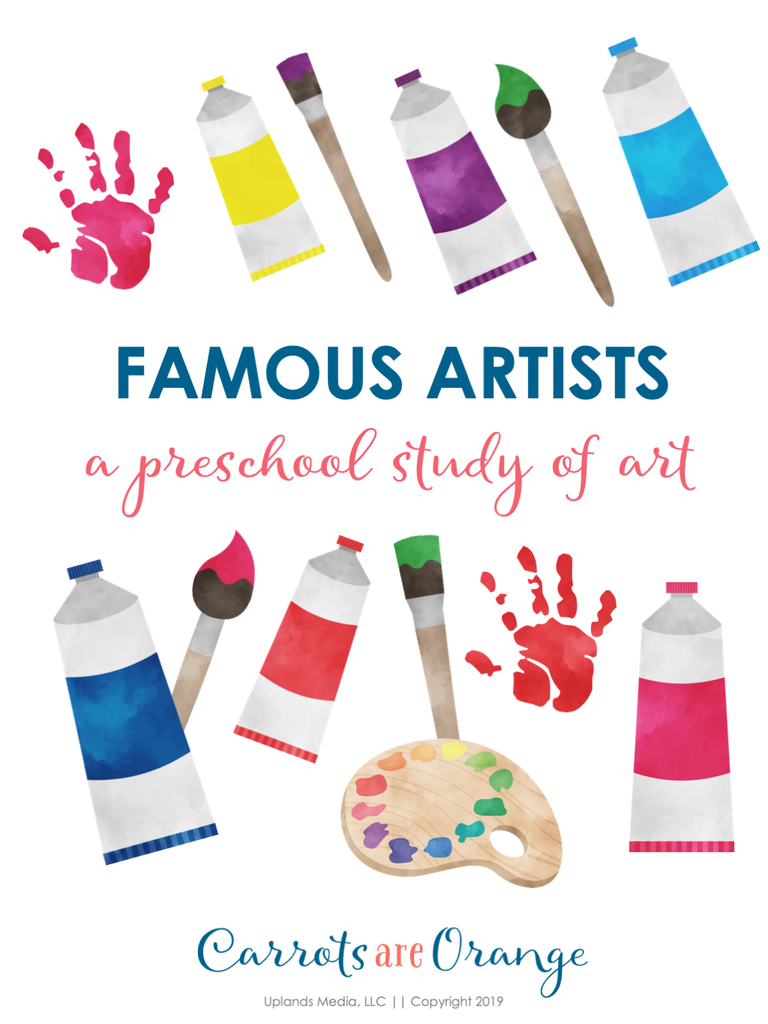 Famous Artists - a Preschool Study of Art