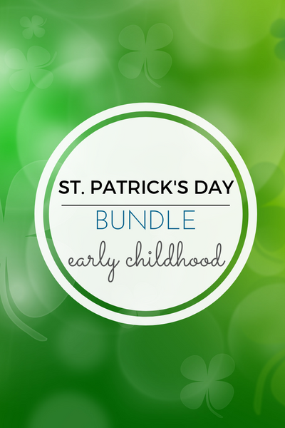 St. Patrick's Day Math Activities Pack