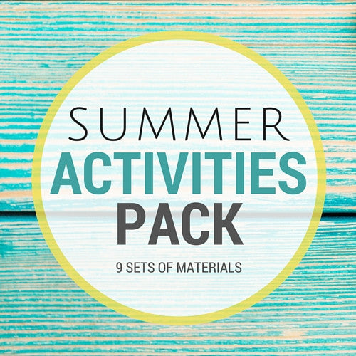 MEGA Summer Activities Pack - Carrots Are Orange - 1