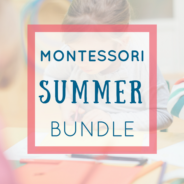 Montessori Summer Activities Pack