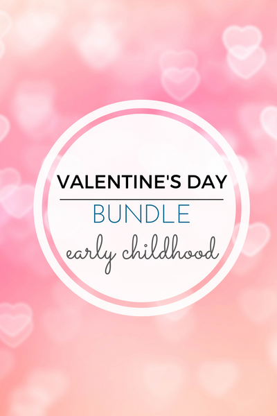 Montessori Inspired Valentine Activities Pack