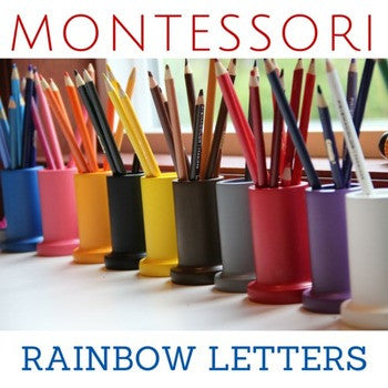 Montessori Letter Writing Practice - Carrots Are Orange - 1