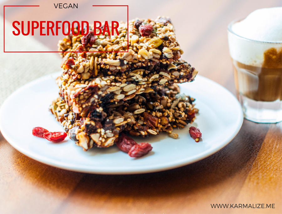 Vegan Superfood Bar