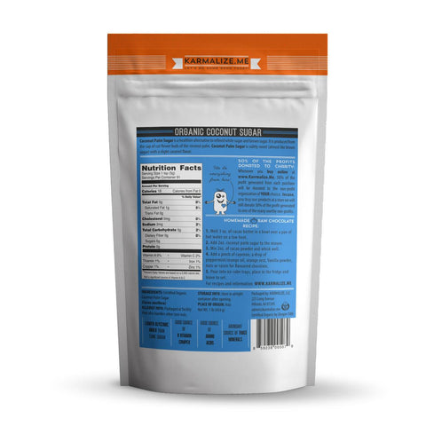 100% Organic Coconut Sugar, Unrefined - 1lb.