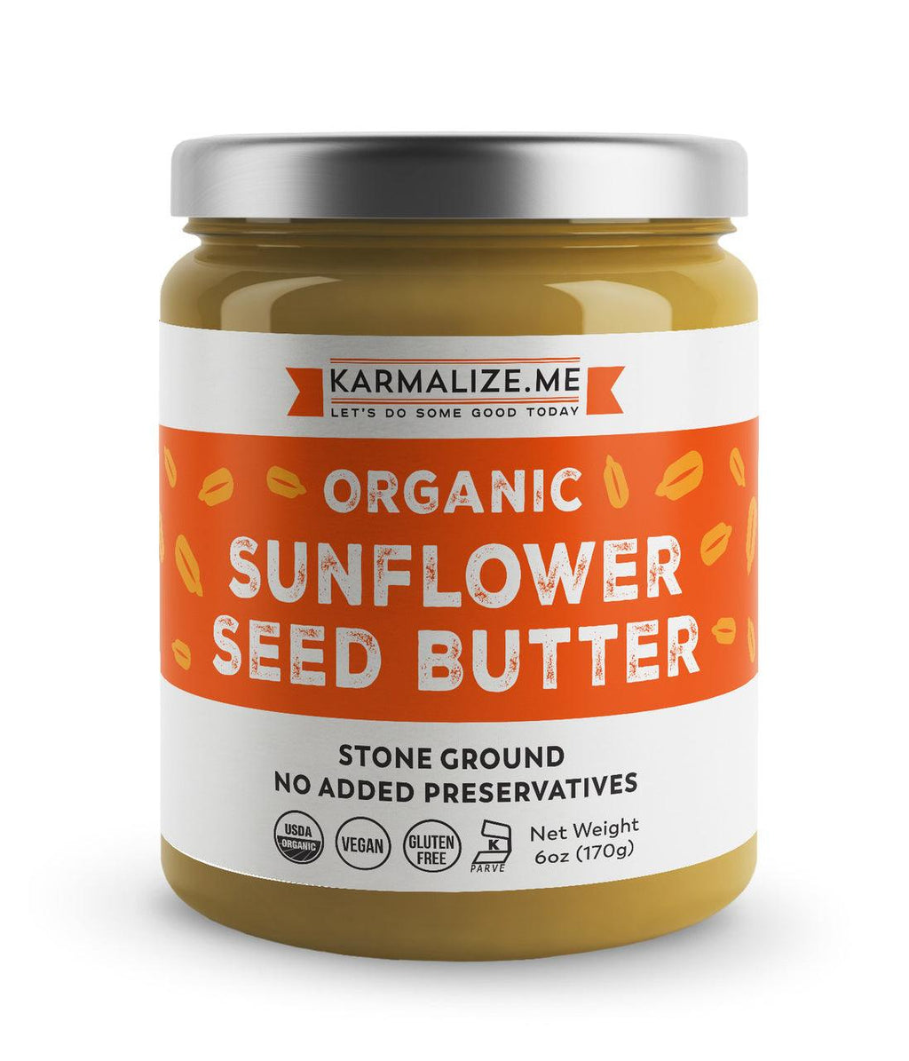 Organic Sunflower Seed Butter -  Freshly Made.