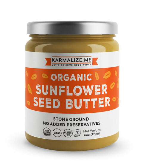 Organic Sunflower Seed Butter -  Freshly Made