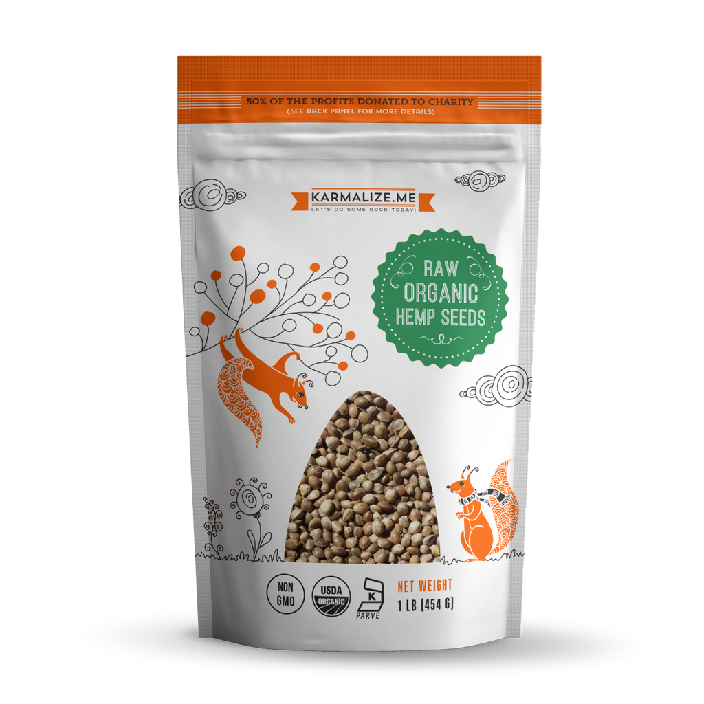 Raw Organic Hemp Seeds
