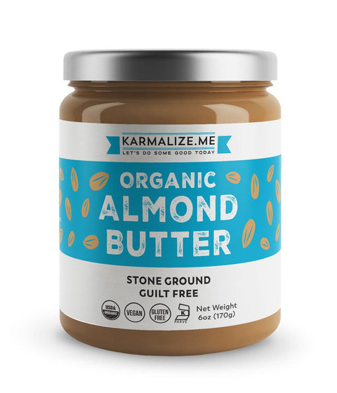 Organic Raw Almond Butter  - Freshly Made
