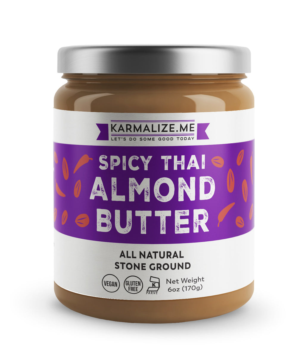 Vegan Spicy Thai Almond Butter