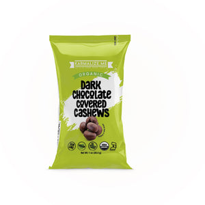 Organic Chocolate Cashews (1 oz)