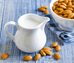 Organic Sprouted Raw Almond Milk - Freshly Made, FREE Home delivery (LIMITED CITIES ONLY)