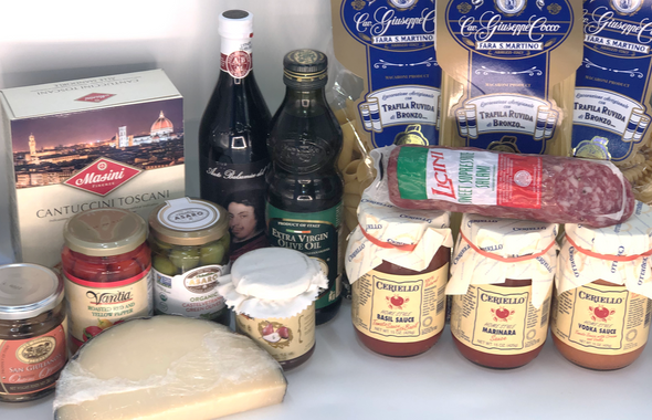 Italian Celebration Gift Basket