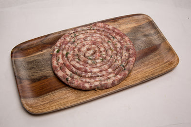 Fresh Cheese & Parsley Sausage (Cervellata)
